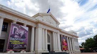 Palacio National in 2021 Nicaragua