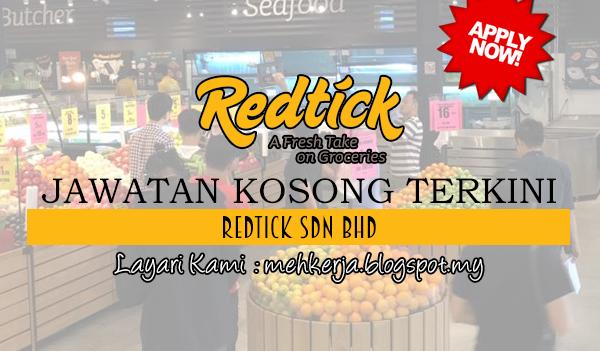 Jawatan Kosong Terkini 2017 di RedTick Sdn Bhd mehkerja