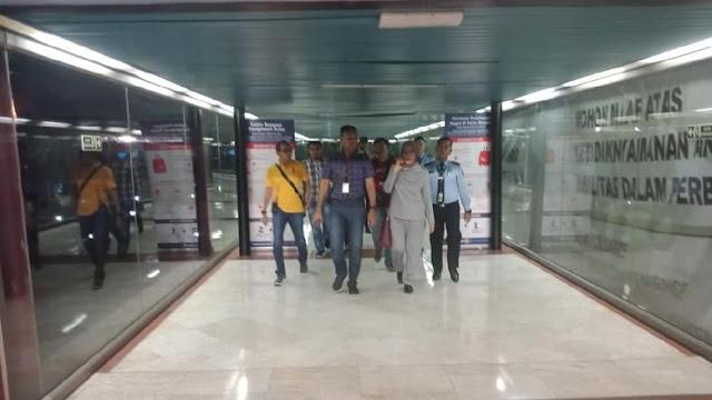 Ratna Sarumpaet Ditangkap di Bandara Soekarno-Hatta