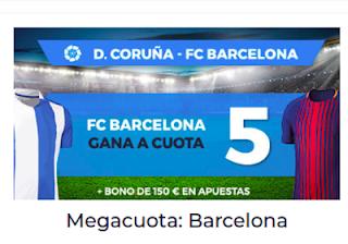 Paston Megacuota de Liga Santander: victoria del Barcelona a Deportivo 29 abril