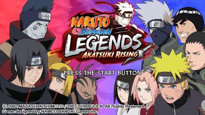 Kumpulan Game Naruto Shippuden Android PPSSPP / PSP ISO CSO Terbaru lengkap Update 2017 Gratis