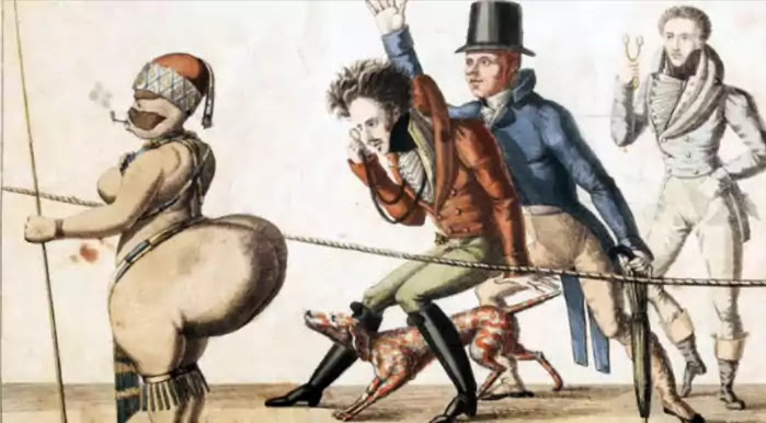 Sarah Baartman's stage performance