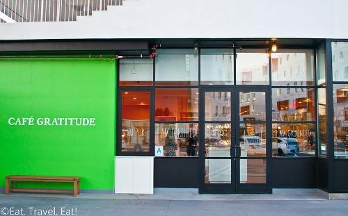 Cafe Gratitude Photo Courtesy of Wilson Lin at Eat. Travel. Eat!