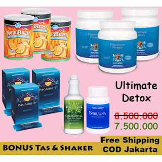Menurunkan Berat Badan 5-10 kg dengan Paket Smart Detox Ultimate Arginin 25 Hari