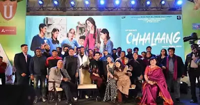 Chhalaang Full Movie Download in 480p Mp4, Direct Downloading Link Chhalaang 2020 Bollywood HD Movie Free Download. Just Join Telegram Channel.