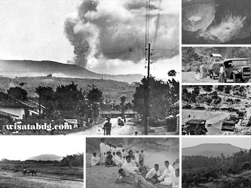 Sejarah letusan Gunung Tangkuban Perahu