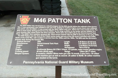 M46 Patton Tank at Fort Indiantown Gap in Pennsylvania