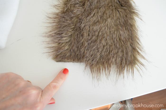 Wrong way to cut fur