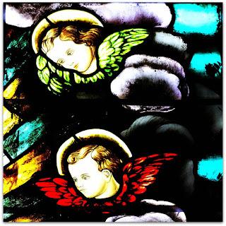 Os Anjos - Vitral da Igreja de Nossa Senhora dos Navegantes, Porto Alegre