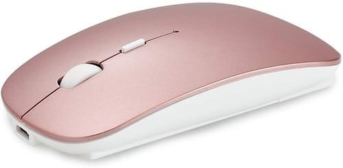 QIJIAYI 2.4GHz Wireless Bluetooth Mouse