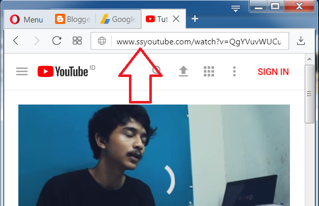 cara download video lagu di youtube lewat laptop