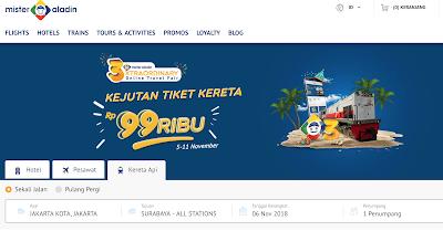 Cara Mudah Pesan Tiket Kereta Jakarta Surabaya