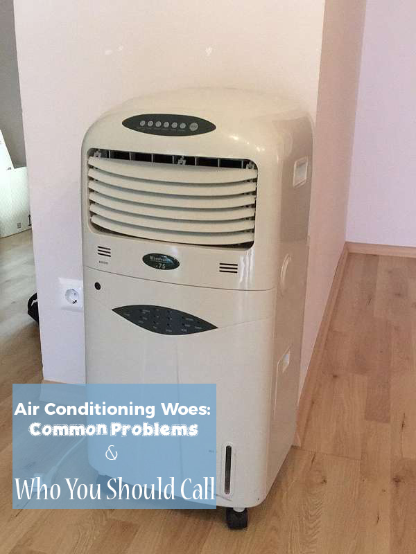 Air Conditioning Woes: Common Problems And Who You Should Call