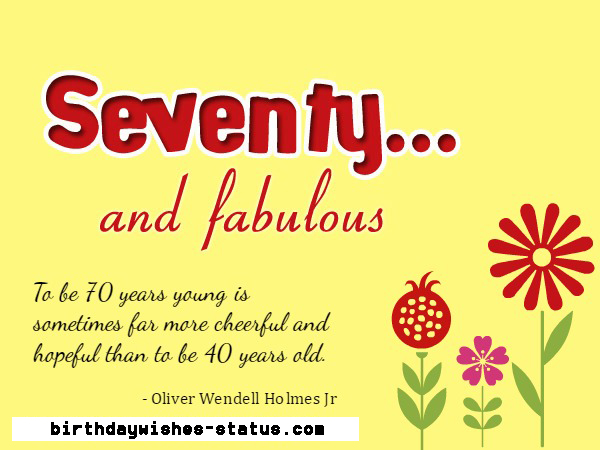 70th birthday wishes for mother