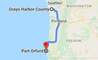 port orford oregon map Traveling Suitcase Pacific Northwest Port Orford Oregon port orford oregon map