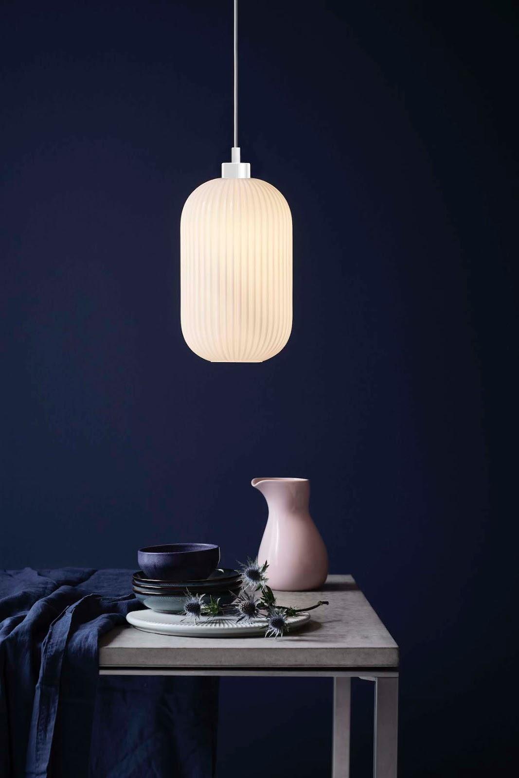 Lámpara colgante minimalista