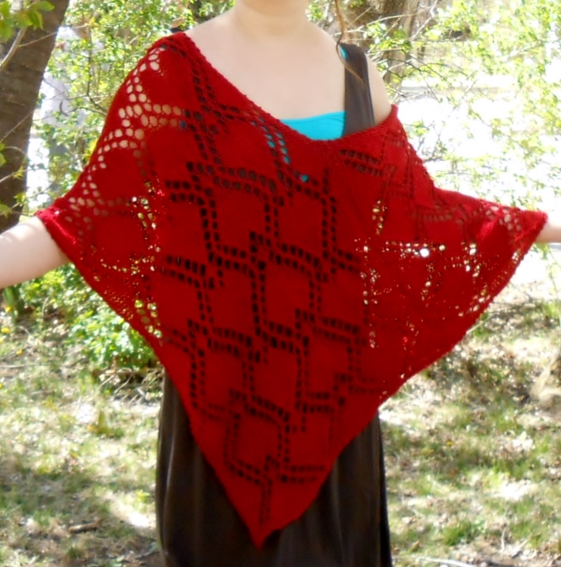 LoisLeigh Anderson\'s Creations blog: Warm and fashionable lace knit ...