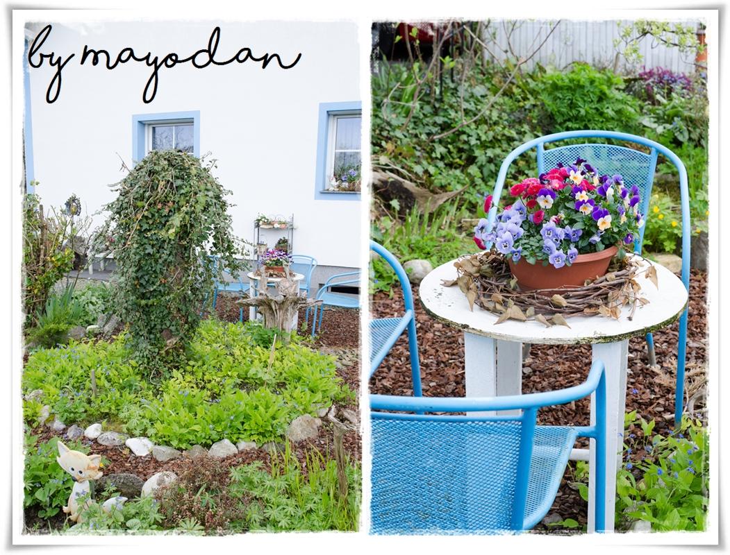 fr hling im garten meiner eltern mayodans garden crafts. Black Bedroom Furniture Sets. Home Design Ideas