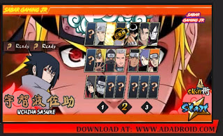 Download Naruto Senki TLF Special Sasuke Rinnegan Mod Apk by Sabar Gaming Jr