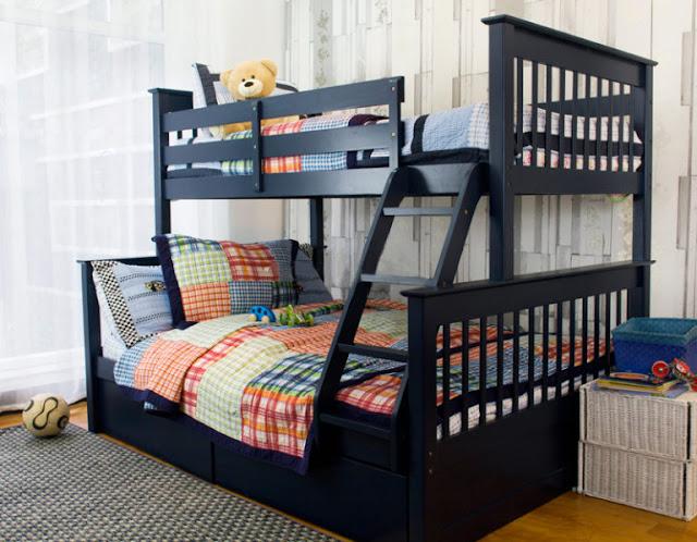 Tận dụng tối đa không gian phòng ngủ cho cả gia đình trong một phòng