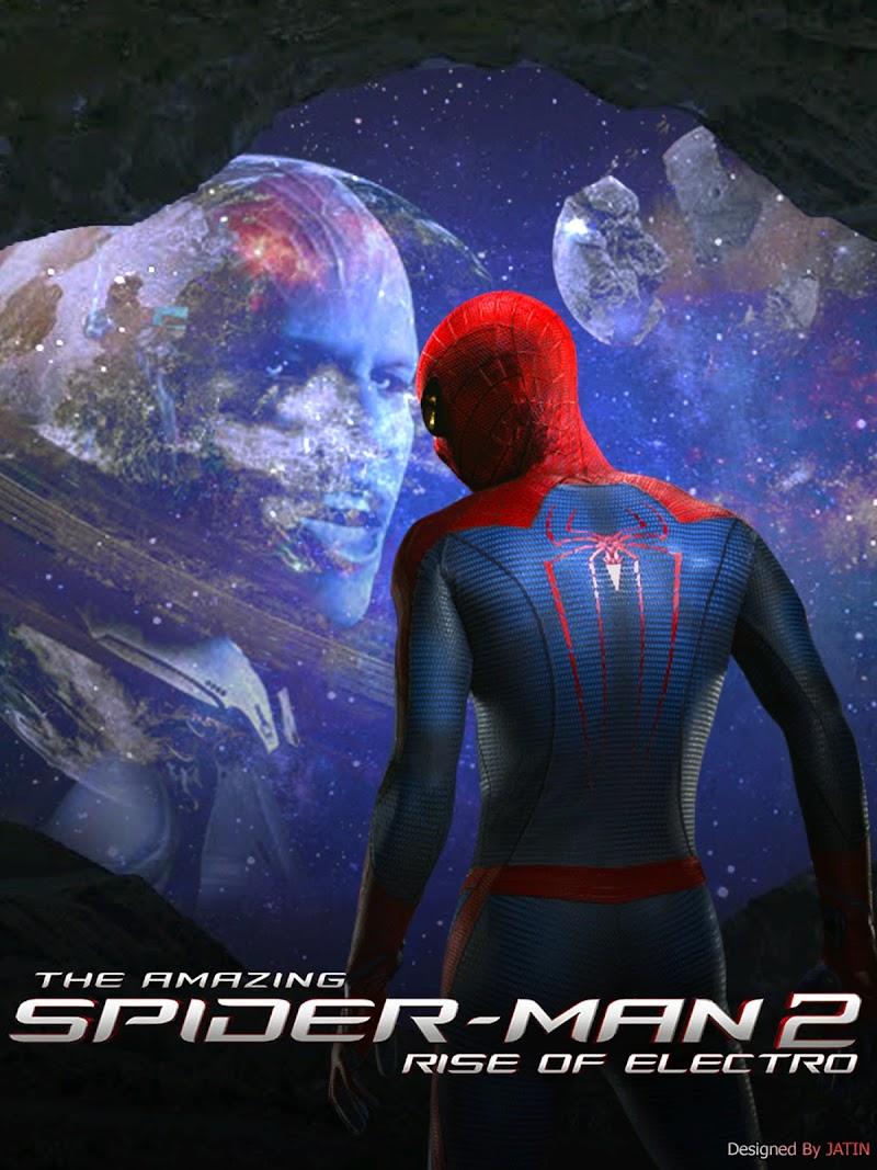 FREE  Amazing Spiderman 2 Movie Poster PSD
