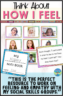 Teaching emotion vocabulary and perspectives made easy for mixed level groups!