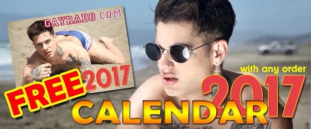 Free Calendar 2016 Promo Gayrado Online Shop