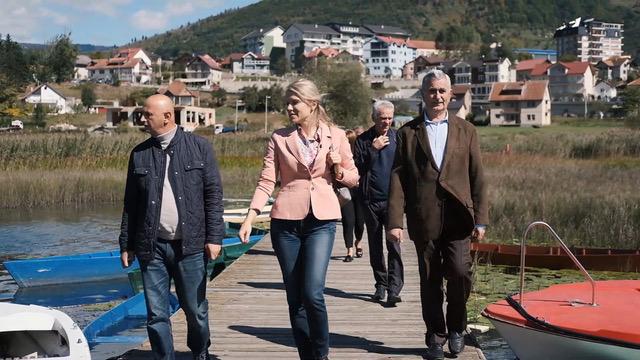 Predsjednica SDP-a Draginja Vuksanović Stanković posjetila Plav