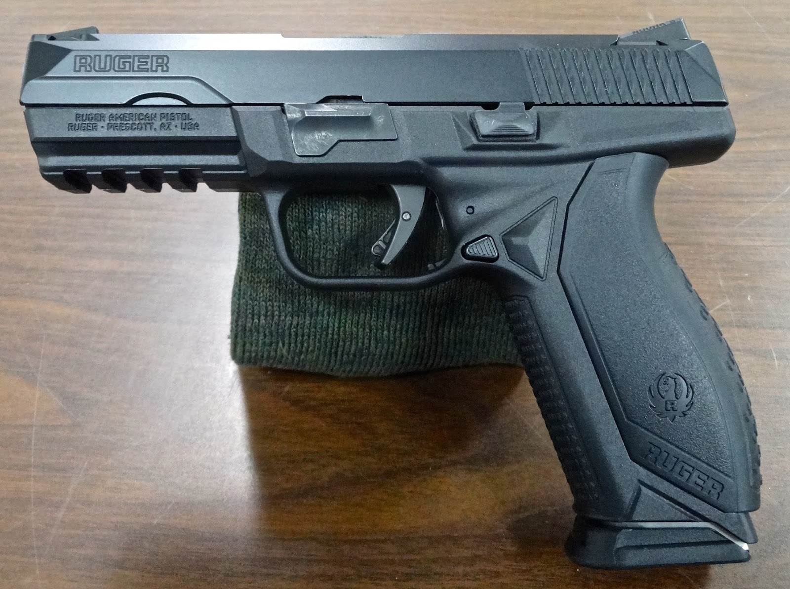 Ruger American 9mm Pistol