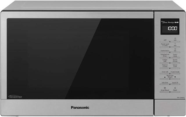 3. Panasonic Countertop Microwave FlashXpress Broiler