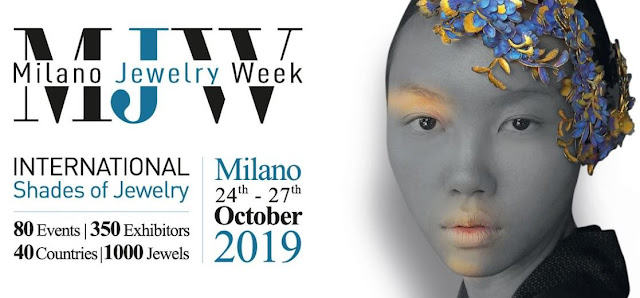 milano jewelry week ottobre 2019 mariafelicia magno artistar jewels prodes Italia colorblock by felym