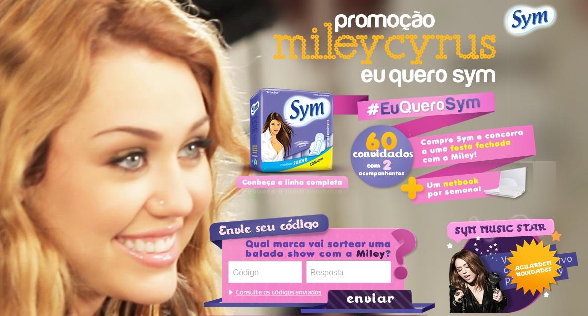 f864aa61ad5 Promoção Mileycyrus eu quero sym