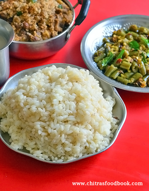 how to cook kerala rice