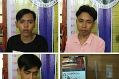 Habis Make, Tiga Pria Ini Ketangkul Masih Kantongi Sabu