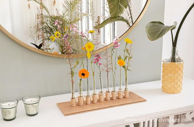 Ikebana Vase lang selbermachen