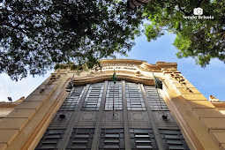 Fachada da antiga Escola de Comércio Alvares Penteado