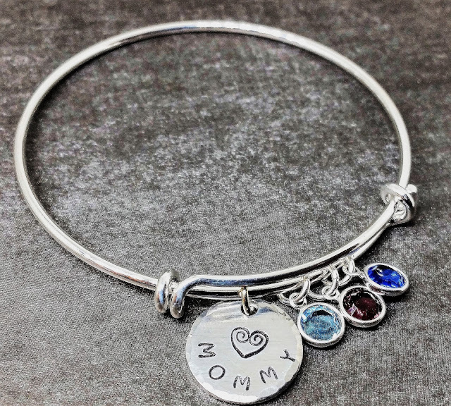 Metamora Herald bracelet birthstones