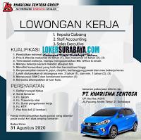 Loker Surabaya di Kharisma Sentosa Group Agustus 2020