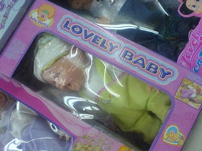 Baby Toy in Plastic