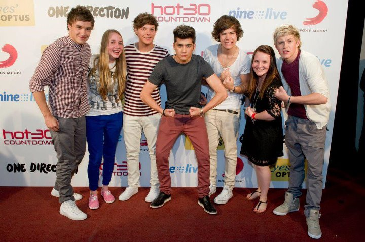 meet and greet one direction 2012 group