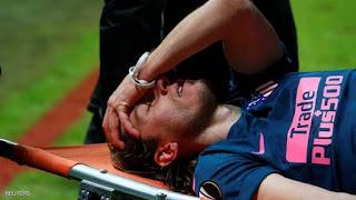 إصابة فيليبي لويس تحرمه من المونديال