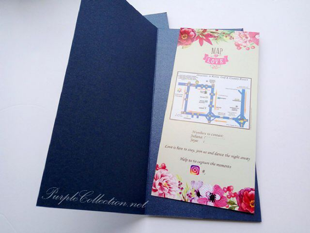 wedding invitation card printing malaysia kuala lumpur, selangor, navy royal blue, magenta, satin ribbon, 1 inch, tag, floral, watercolour, flower, pocket, cetak, kad kahwin, elegant, simple, unique, bespoke, special, nice, beautiful, personalized, personalised, custom design, handmade, hand crafted, rectangle, long, pink, online order, express, rush, setapak, gombak, sabah, sarawak, singapore, johor bahru, penang, pulau pinang, butterworth, perak, ipoh, taiping, cameron highlands, pahang, melaka, seremban, johor, australia, nsw, sydney, melbourne, new zealand, usa, vancouver