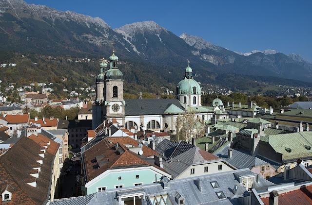 View of Innsbruck in Austria