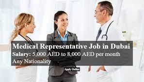 Medical Representative Job In Dubai |  Preferably With Laboratory And Diagnostics Experience
