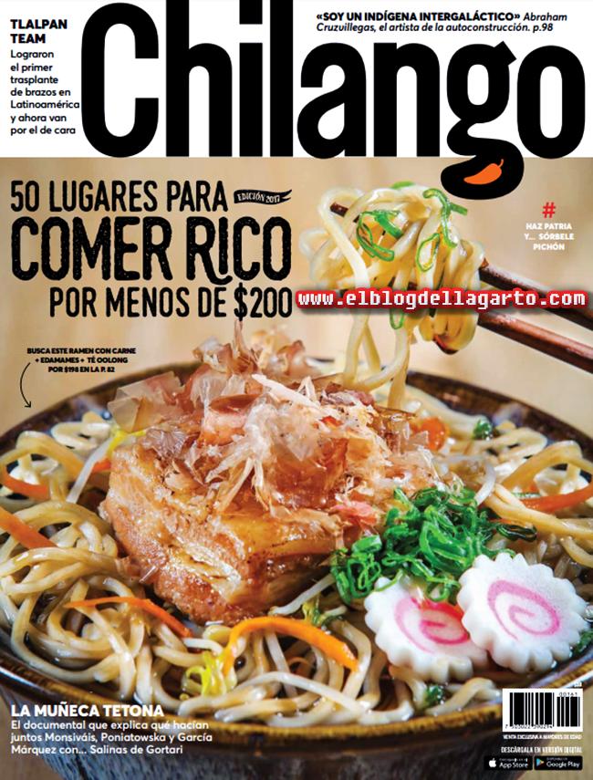 Revista Chilango México - 50 Lugares Para Comer Rico
