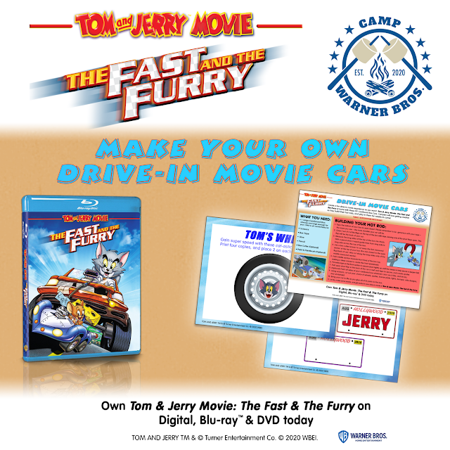 Week 7 at #CampWarnerBros - Tom & Jerry Movie: The Fast & The Furry!