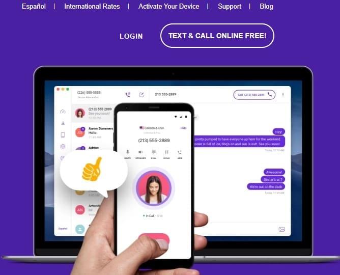 TextNow كيفية الحصول على رقم امريكي للواتس اب 2019