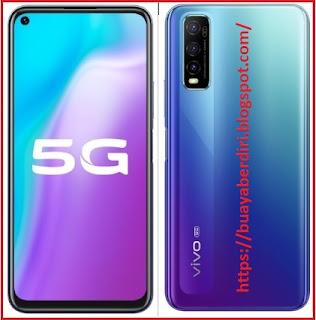 VIVO Y70S 5G Blue Colors