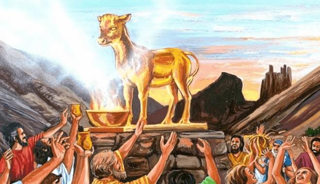Penyembahan Anak Sapi Oleh Bani Israil