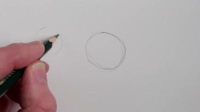 رسم حصان بالرصاص 1